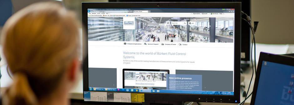 New online presence Burkert